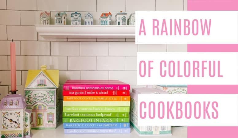 Colorful Cookbooks