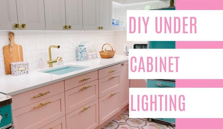DIY Under Cabinet Lighting