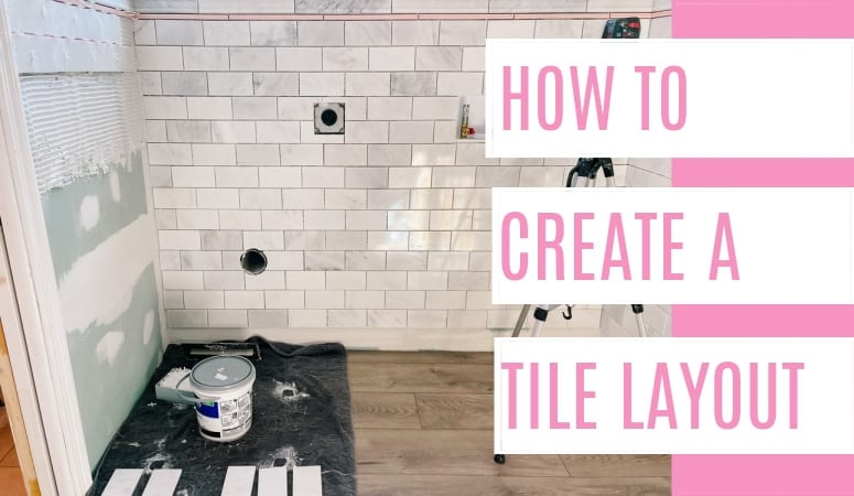 How to Lay Out Tile