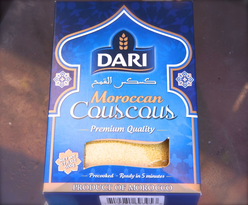 It is easy to find Dari Quick Cooking Couscous at World Market.