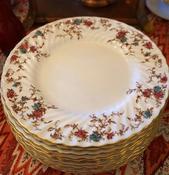 Minton bone china, Ancestral pattern.