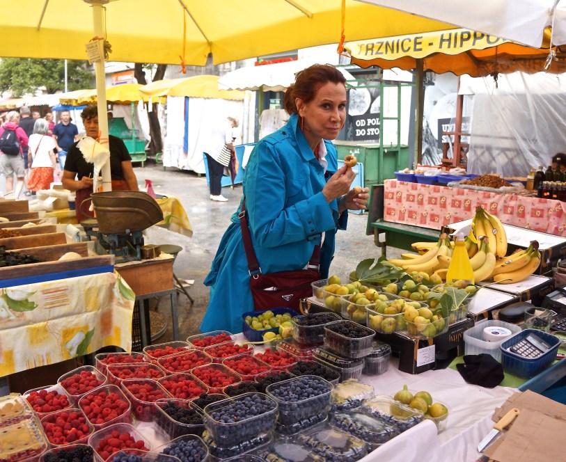 Croatian farmers markets carry all organic, locally grown produce.