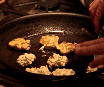 You can also pan saute in a non-stick pan with 1/2 inch of oil.