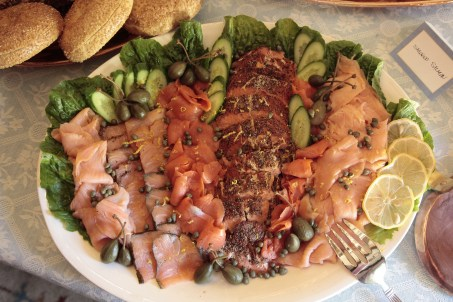 A Smoked Salmon Platter is always a great addition to any brunch menu!