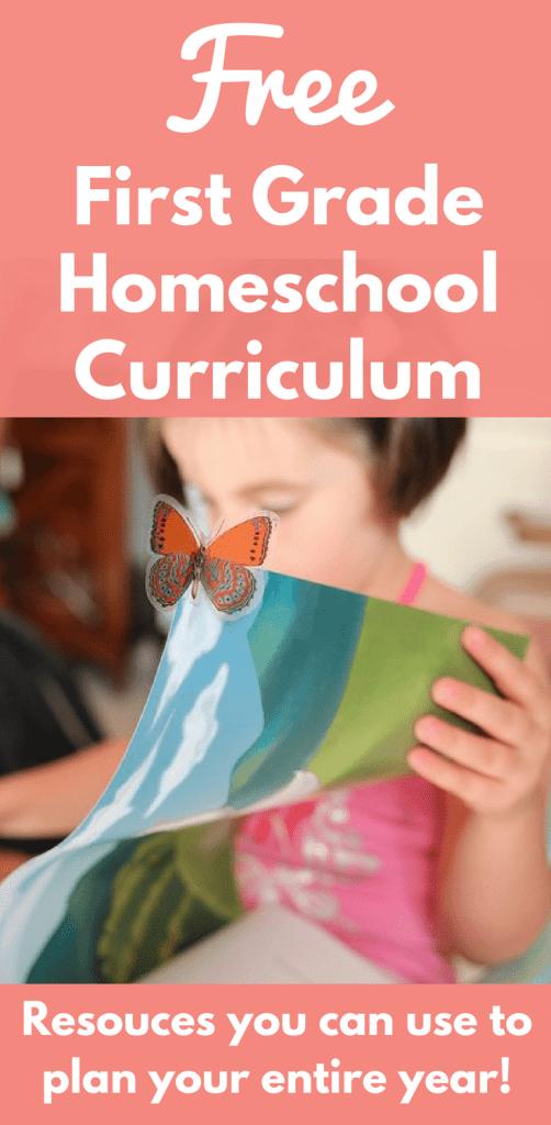 Free First Grade Homeschool Curriculum