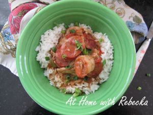 Chicken Andouille and Shrimp Gumbo