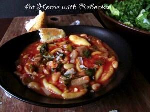 Italian Escarole Soup with homemade Orecchiette
