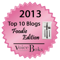 Top Food Blog 2013-VoiceBoks