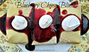 Blueberry Cheese Blintzes Recipe
