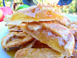 Butterscotch Apple Pie Cookies ~ Creative Cookie Exchange APPLES