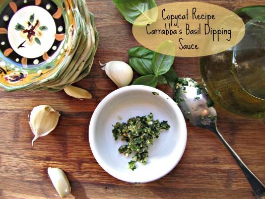 Copycat Carabbara's Basil Garlic Dip
