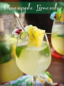 Pineapple Limeade-The Perfect Summer Refresher