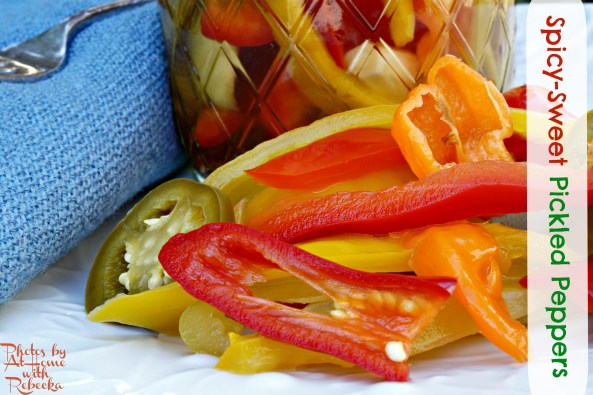 Canned Pickled Peppers