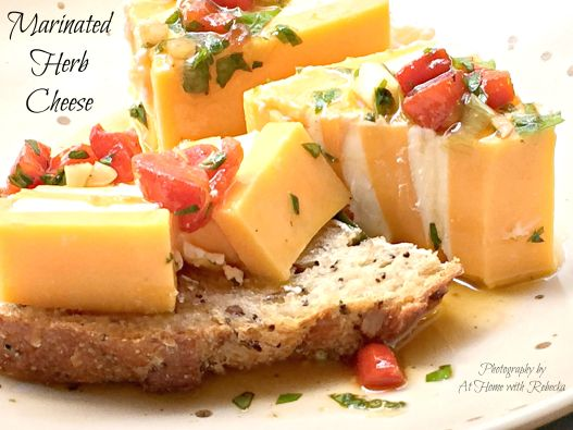 Marinated Herb Cheese Appetizer