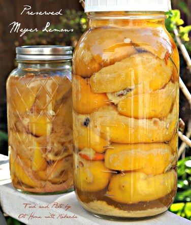 Preserved Meyer Lemon Recipe with Exact Measurements