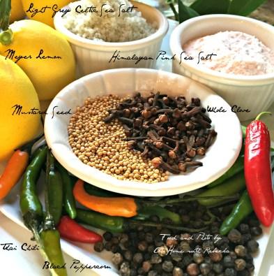 Spices Preserved Lemon