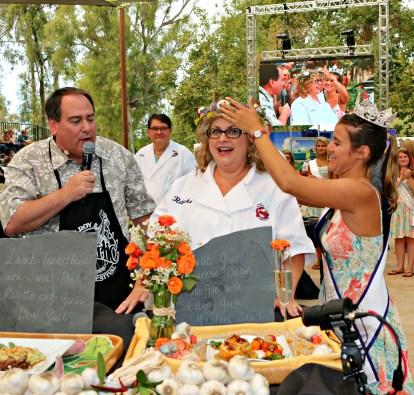 The Great Gilroy Garlic Cook-off 2016 Winner Rebecka Evans