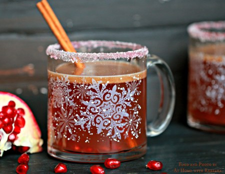 Hot Buttered Blood Orange Rummy will warm your insides and get your jingle bells ringing this holiday season!
