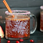 Hot Buttered Blood Orange Rummy {Stirrings Mixology Contest}