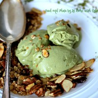 Matcha Mascarpone Ice Cream Recipe {Ice Cream Depot Review}