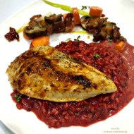 Red Beet Risotto