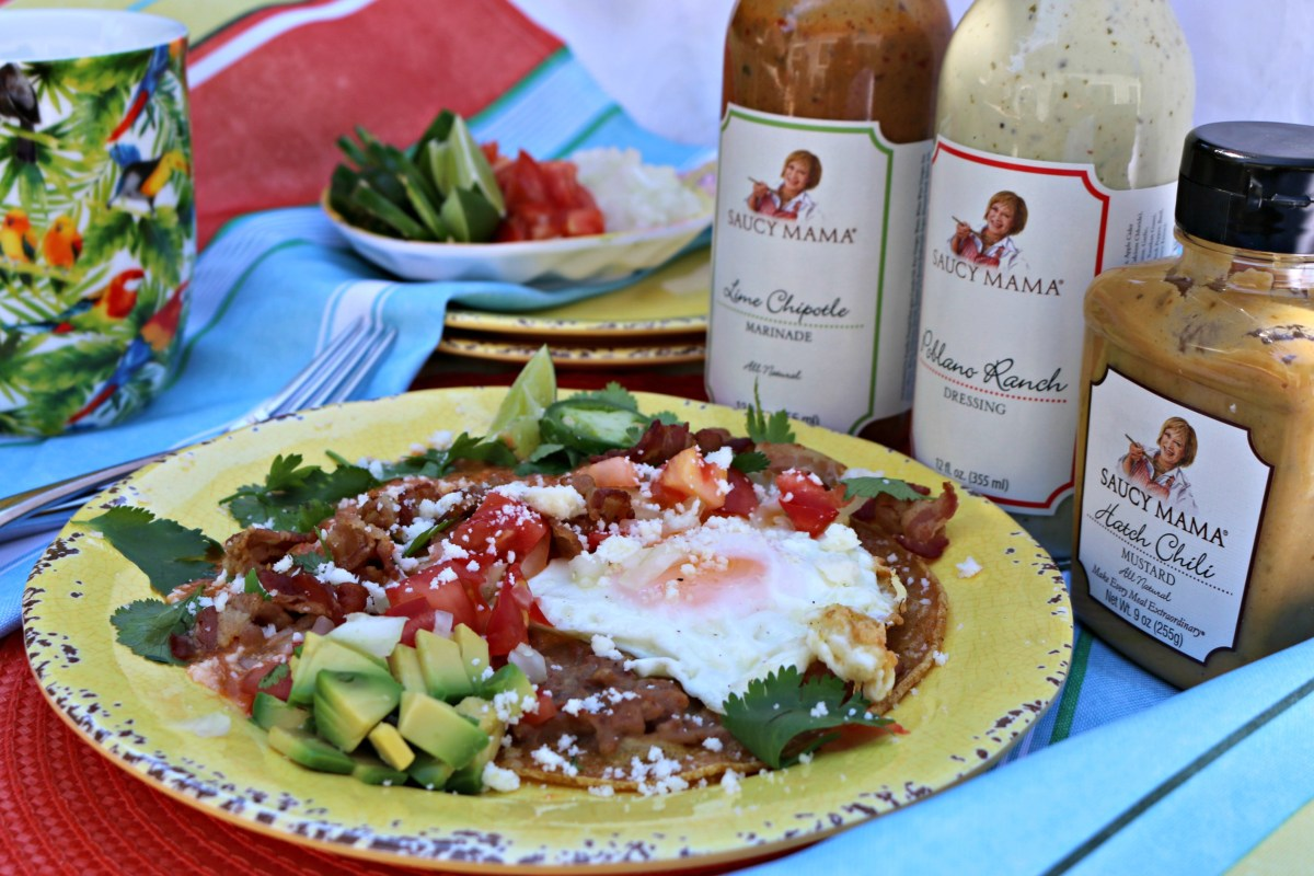 Saucy Mama Inspired Huevos Rancheros: 2017 Recipe Contest Winner!