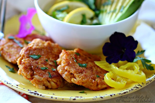 Chili Lime Tuna Cakes