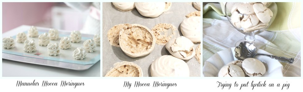 failed mocca meringues