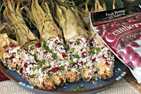 Cranberry ELOTE (Mexican Street Corn)