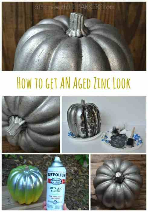How to Get an Aged Zinc Look
