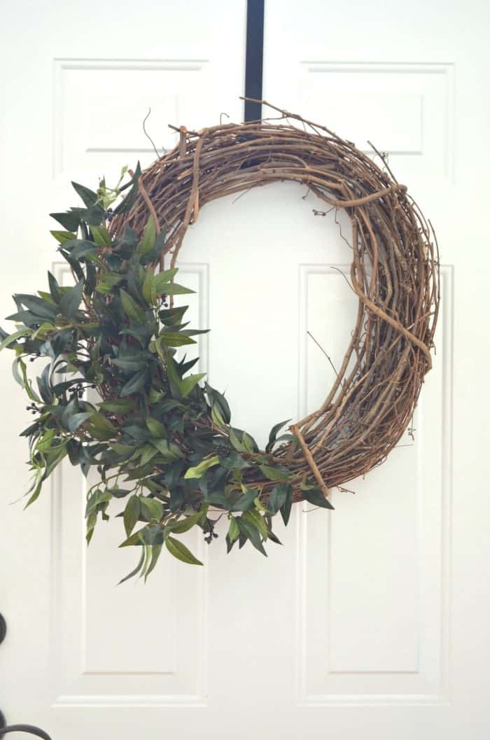 Farmhouse Style DIY Wreath