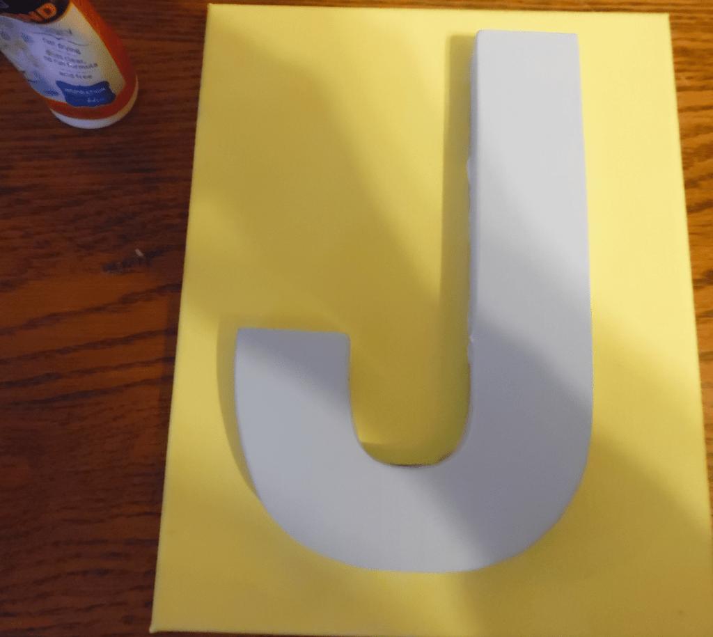 Letter J 5