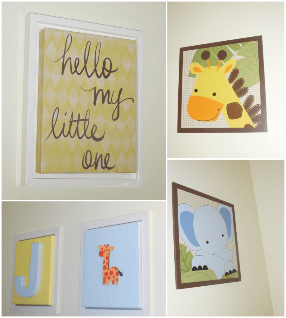 baby room wall art