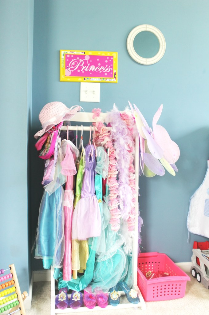 Princess dress up corner