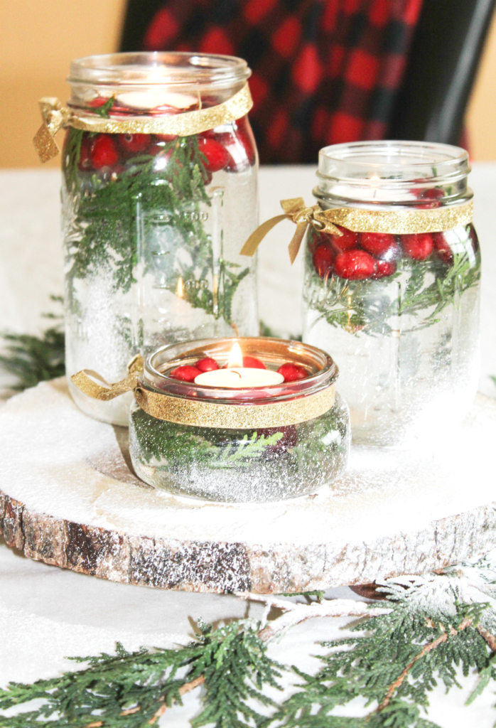 diy-holiday-centerpiece-with-cranberries