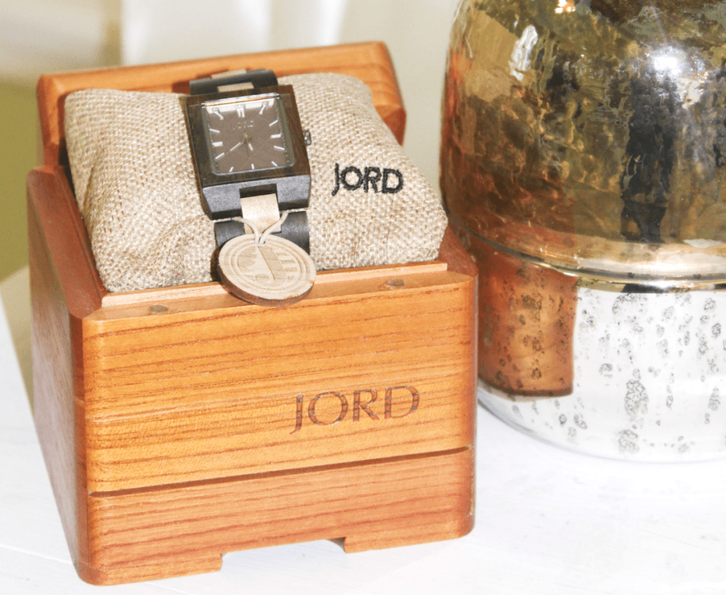 JORD Wood Watch - Wooden Box