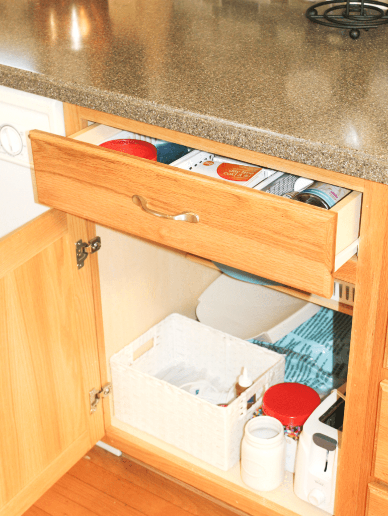 kitchen drawer organization - miscellaneous