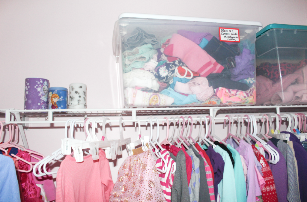 Girls room and closet