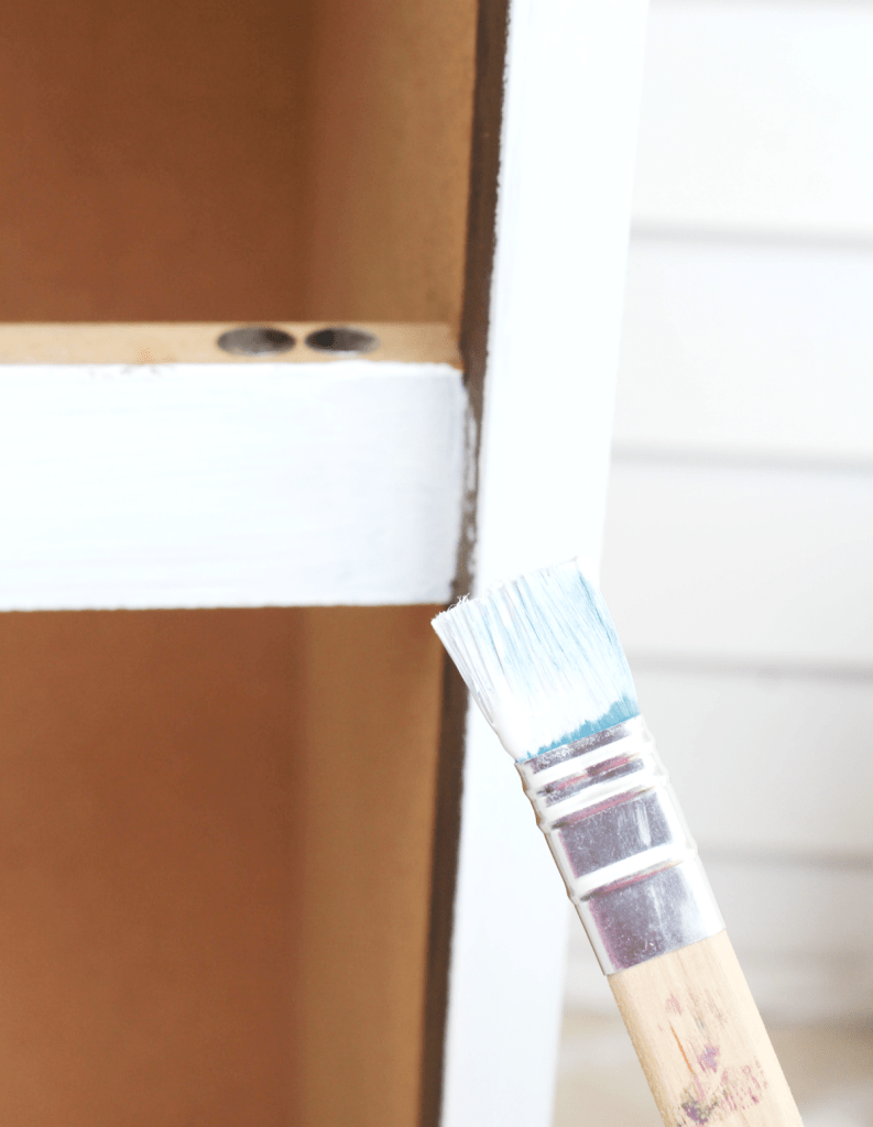 Dresser Makeover - Paint Brush - At Home With Zan