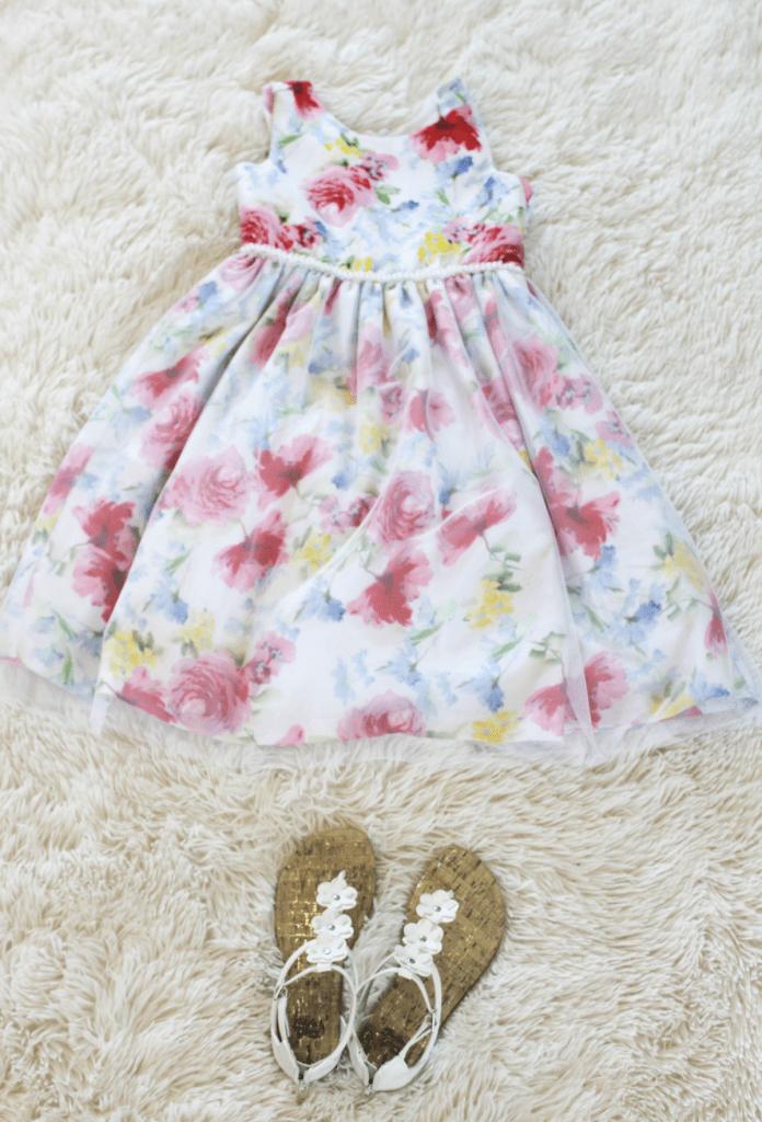 Kids Fashion - Summer Dress - Girls - At Home With Zan