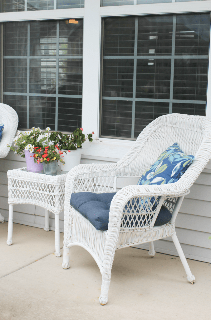 Summer - Wreath - Spring - Wreath - Porch Decor - At Home With Zan