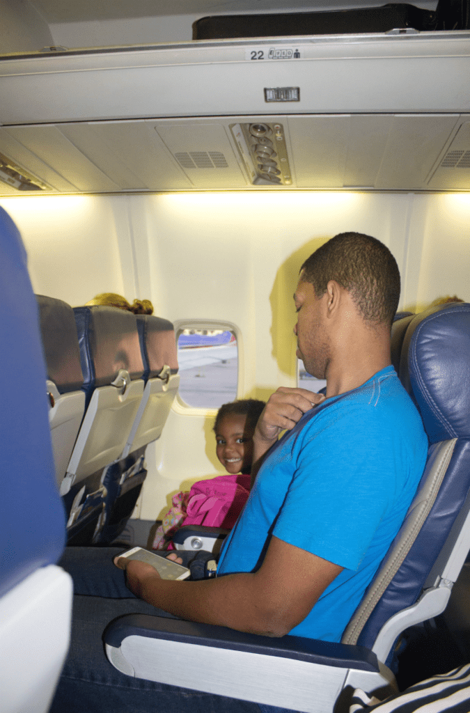 Orlando Vacation - Airplane - Southwest Airlines - At Home With Zan