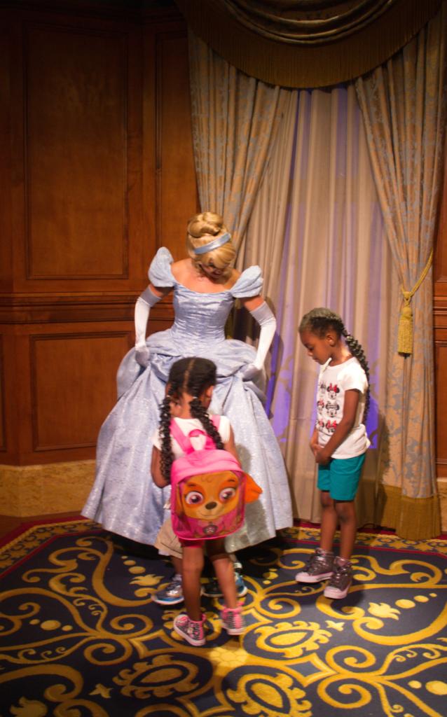 Orlando Vacation - Disney's Magic Kingdom - Cinderella and the Girls - At Home With Zan-