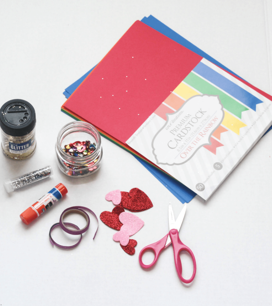 DIY - Valentine's Heart Cards for Kids - At Home With Zan