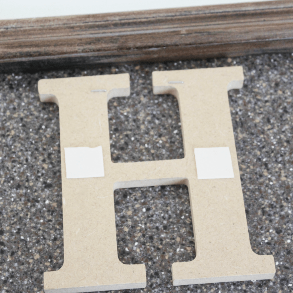 DIY Decorative Sign for Home - HOME - At Home With Zan-