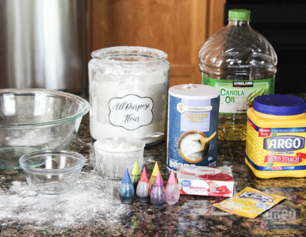 Playdough Recipe - At Home With Zan