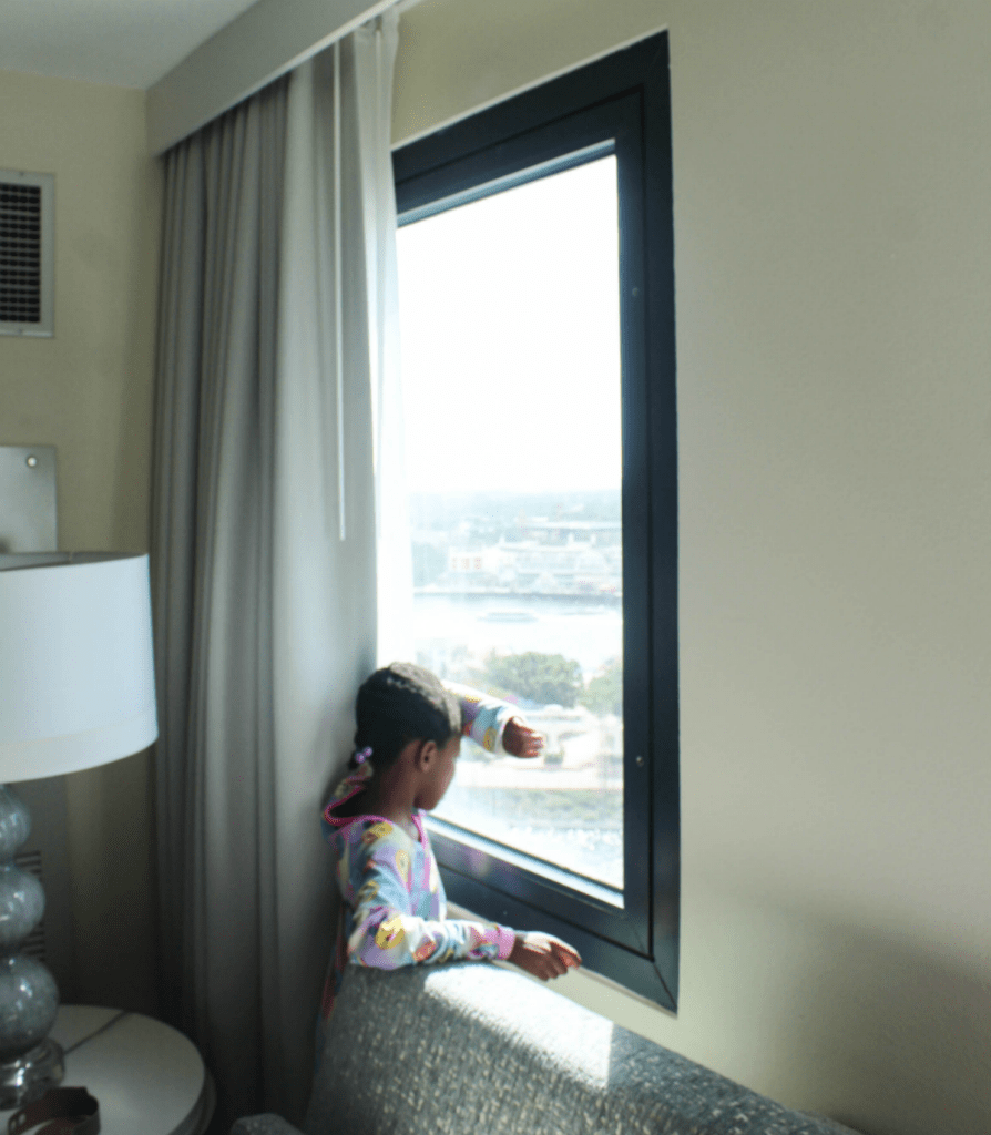 Disney -Dolphin -Resort-Review-Hotel-Lovely View -Top Floor -Travel-Disney Vacation-Orlando-At Home With Zan
