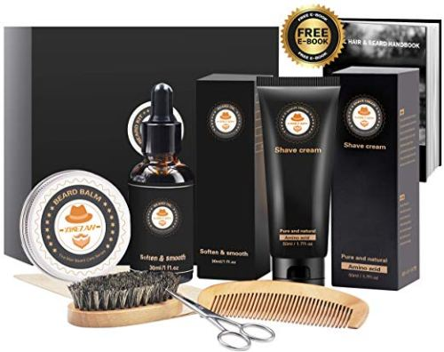 Beard Care for Men - Pure and Natural - Holiday Gift Guide for Moms and Dads - Parents Gifts - Spouse Gifts - At Home With Zan