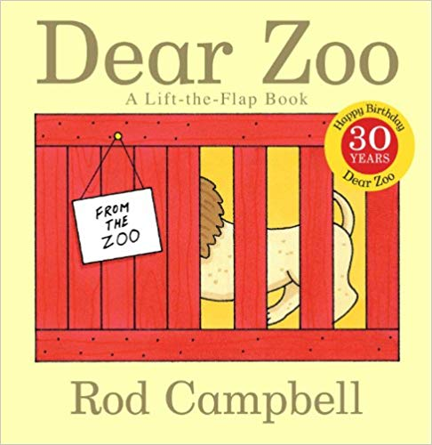 Dear Zoo Book - Holiday Gift Guide for 3-5 Year Olds - At Home With Zan-