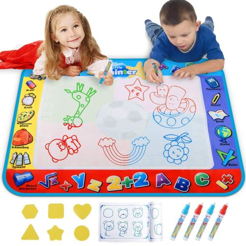 Doodle Mats - Holiday Gift Guide for 3-5 Year Olds - At Home With Zan